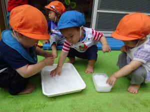 小麦粉遊び2